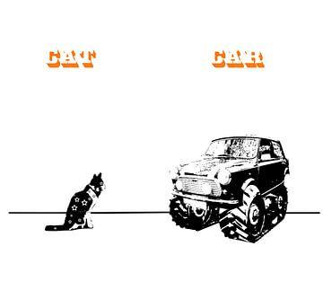 Cat&Car sur Filip Mobach
