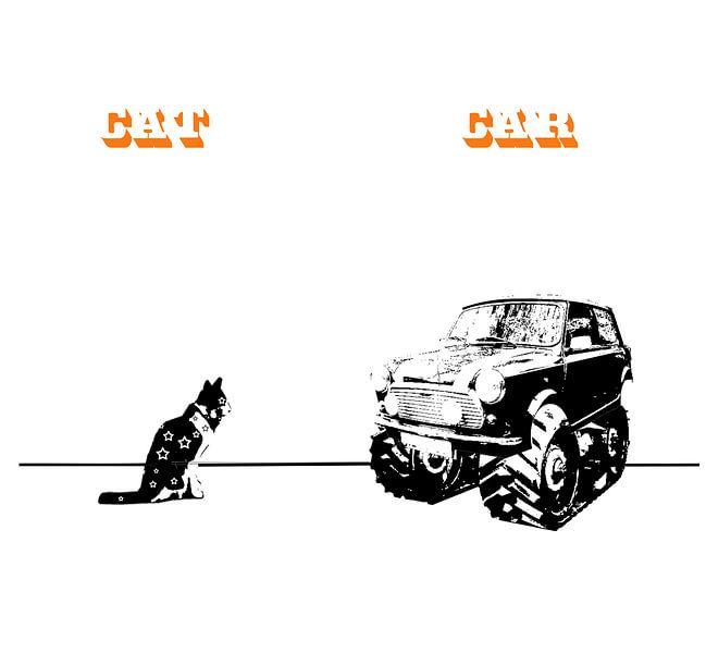Cat&Car van Filip Mobach