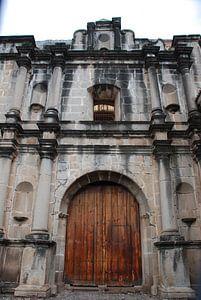 Kerk in Antigua  Guatemala