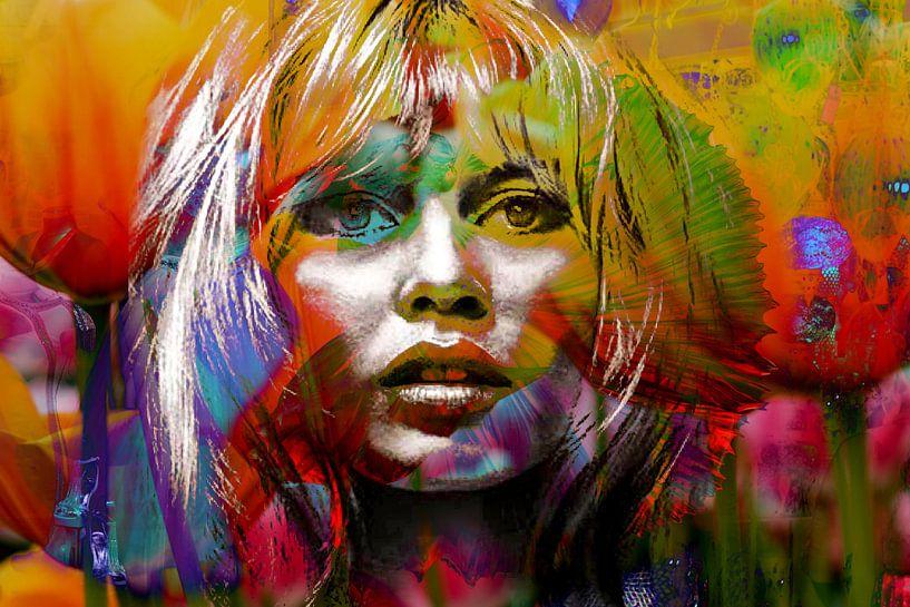 Brigitte Bardot - BB von Christine Vesters Fotografie