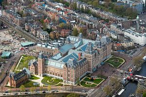 Luchtfoto Rijksmuseum Amsterdam