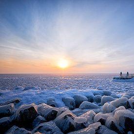 Échafaudages gelés sur Peter de Jong