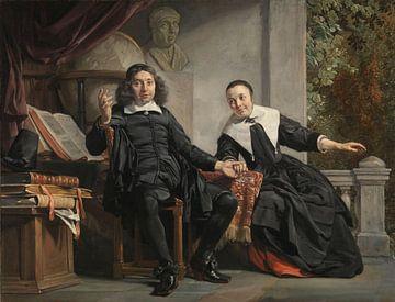 Abraham Casteleyn und seine Frau Margarieta van Bancken, Jan de Bray