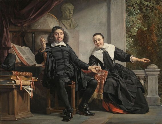 Abraham Casteleyn en zijn echtgenote Margarieta van Bancken, Jan de Bray