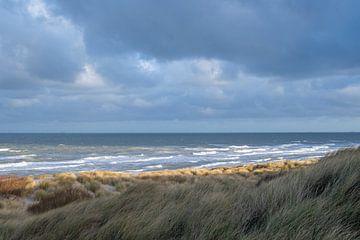 Belgische kust - De Haan aan Zee van Guy Albert Rene Meuleman