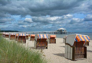 Timmendorfer Strand an der Ostsee von Peter Eckert