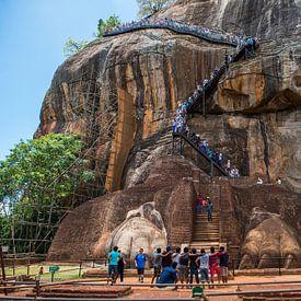 King's Rock à Sigiriya au Sri Lanka sur Roland de Zeeuw fotografie