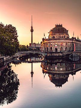 Berlijn reflectie van Iman Azizi