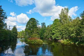 Zweedse rivier 210 van Geertjan Plooijer