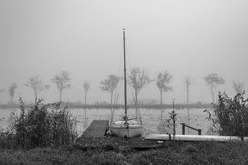 Mist boven Breevaart von Rinus Lasschuyt Fotografie