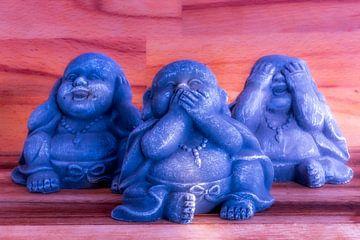 Buddha - nichts hören,nichts sehen,nichts sagen van Dagmar Marina