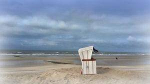 Strandkorb sur