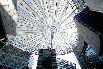 Sony Centre Berlijn  van Jo Miseré