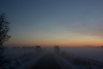 Avond atmosfeer (Tinnum) van Norbert Sülzner