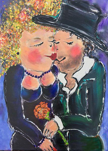 Red lips van Maartje van Berkel