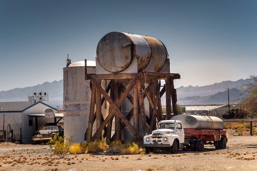 Abseits der Route 66 in Kalifornien van Kurt Krause