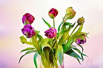 Violetter Traum von Eduard Lamping