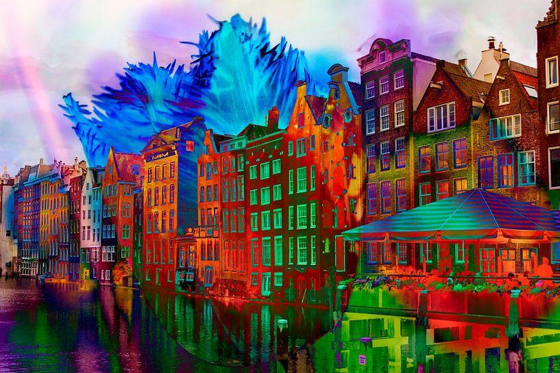 Amsterdam Licht Festival van Frans Van der Kuil