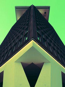 Amsterdam Toren #3 van Roger Janssen