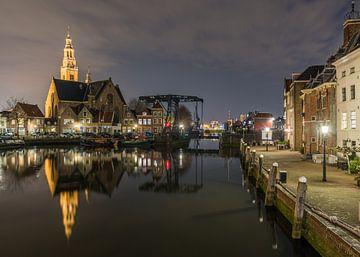 Soirée dans la vieille ville de Maassluis sur Catstye Cam / Corine van Kapel Photography
