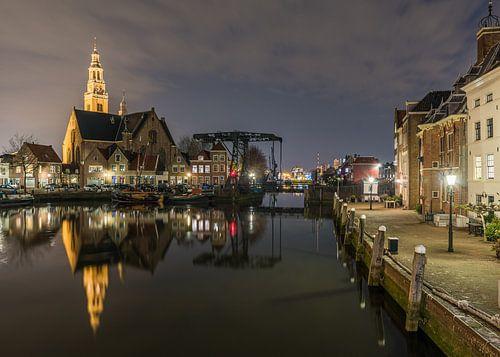 Avond in het oude centrum van Maassluis