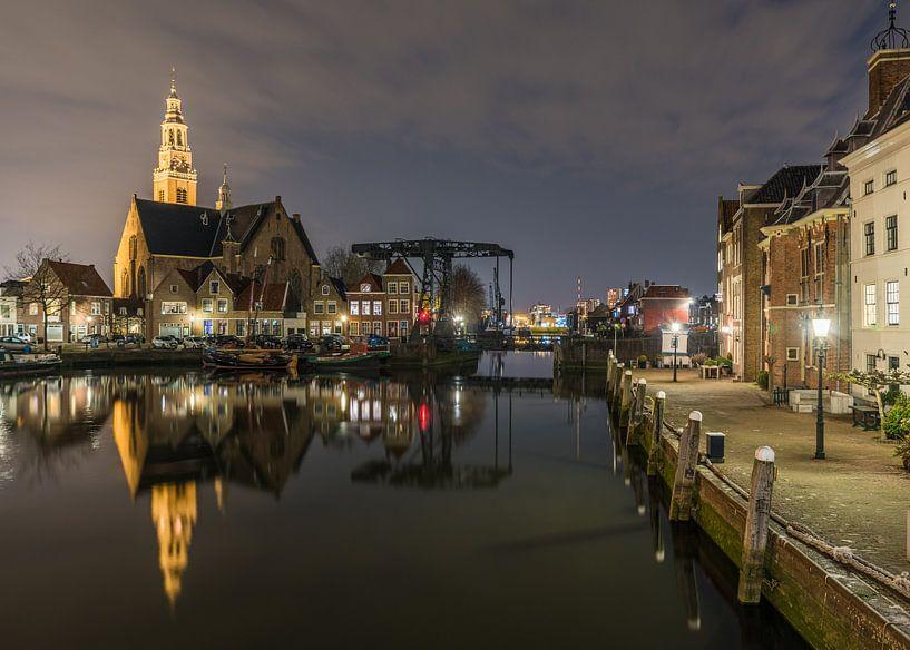Avond in het oude centrum van Maassluis van Catstye Cam / Corine van Kapel Photography