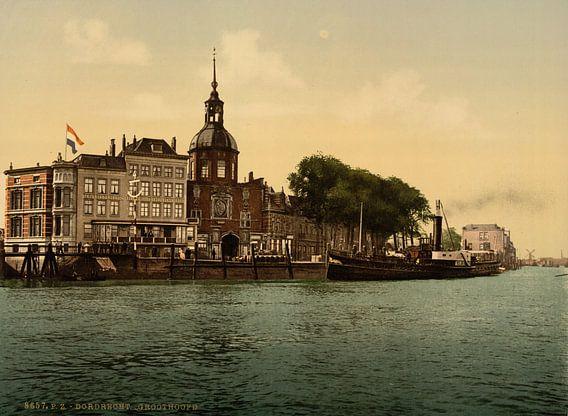 Groothoofd, Dordrecht van Vintage Afbeeldingen