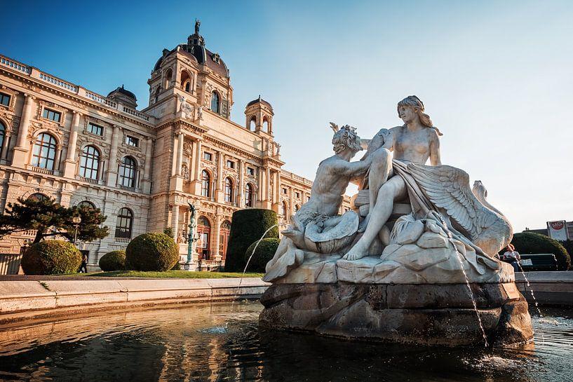 Vienna - Museum of Art History van Alexander Voss