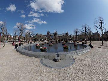 Amsterdam Museumplein sur eric piel