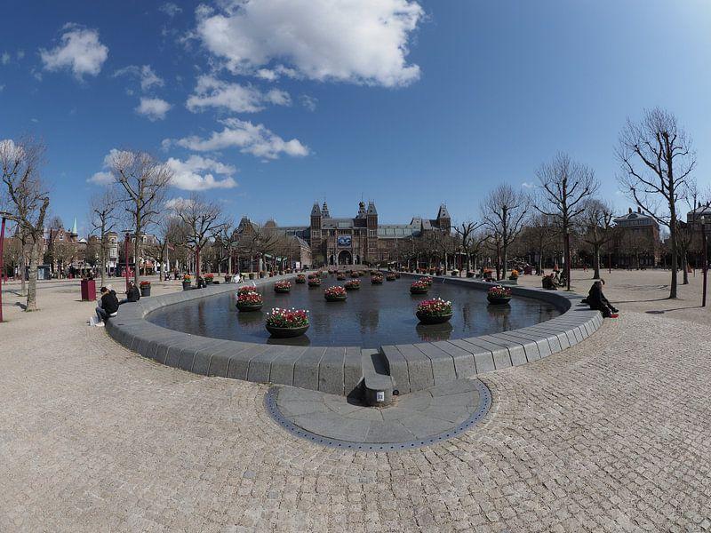 Amsterdam Museumplein van eric piel