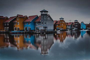 Scandinavische huisjes in Nederland van Tom Knotter