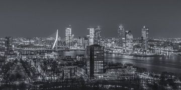 Skyline Rotterdam vanaf de Euromast | Tux Photography - 6 van Tux Photography