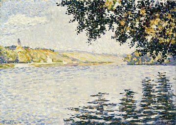 Blick auf die Seine bei Herblay, Paul Signac