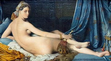 Die große Odaliske, 1814 – Jean-Auguste-Dominique Ingres