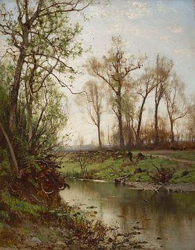 Arthur Parton (Amerikaner, 1842-1914)~Frühe Fastenzeit