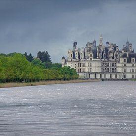 Kasteel Chambord aan de Loire in Frankrijk van Aagje de Jong