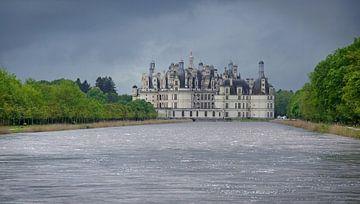 Kasteel Chambord aan de Loire in Frankrijk van