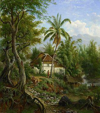 Indische Landschaft, Maurits E.H.R. van den Kerkhoff