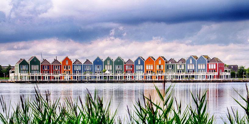 Regenboog huizen Houten von Henk Langerak
