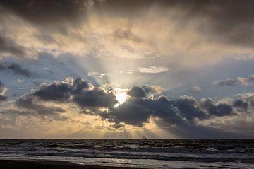 Najaars Storm 004 van Alex Hiemstra