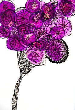 Blumen/Blumen/Blumen/Les Fleurs von Joke Gorter