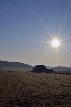 Sonnenaufgang in idyllischer Lage von Sandra Knittel