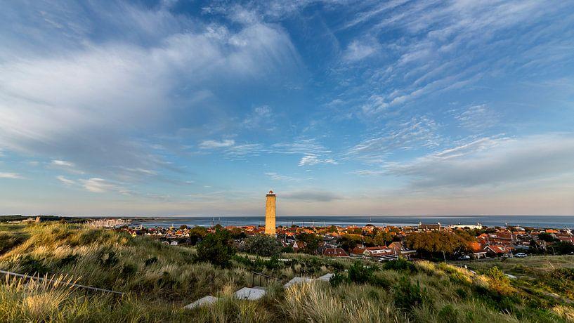 Panorama Terschelling West von Contrast inBeeld