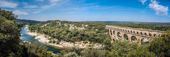 Panorama Pont du Gard van BTF Fotografie