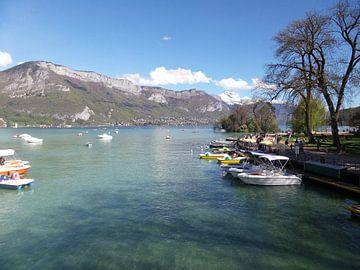 Annecy meer van Veli Aydin