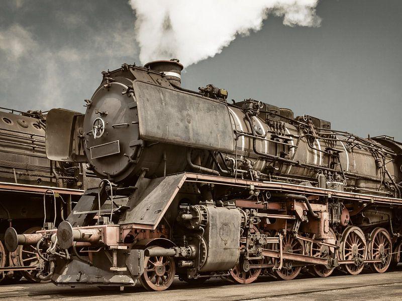 De oude Locomotieven van Martin Bergsma