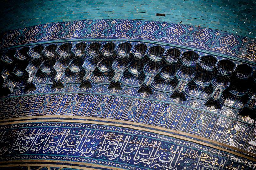 Fliesenarbeiten Madrassa Tilla Kari von Ton Bijvank