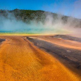 grand prismatic spring - yellowstone national park van Koen Ceusters
