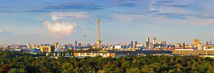 Berlin Skyline sur Frank Herrmann