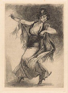 Tänzerin Illustration